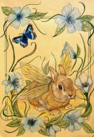 Pasqualino_the Spring Bunny by bloodylady
