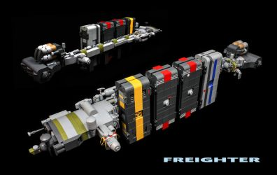 Freighter by ska2d2