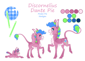 Reference Sheet - Disco Inferno by JackieBloom