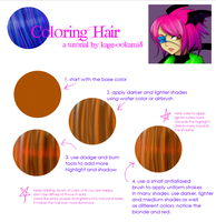 Simple Tutorial Coloring Hair by kage-ookami4