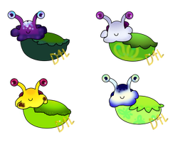 Slugboats: Pansies Batch (OPEN!) by Dance4life628