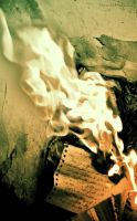 And I burn what I can't erase. by Usra