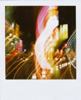 Polaroid 4: Times Square by Snow-In-Summer