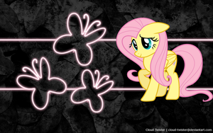 Fluttershy Wallpaper by Cloud-Twister