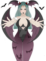 Morrigan Aensland Dark stalkers by VampireBites06