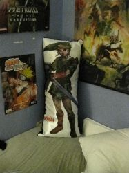 Link Body Pillow by Link9224