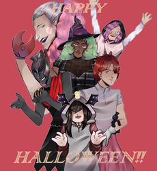 Happy Halloween!! by KrizDTS