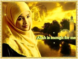 Allah Is Enough For Me by muslimgirl2011