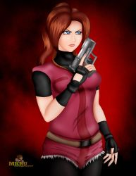 Claire Redfield by MKRUdesign