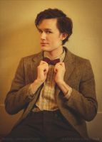 Matt Smith - The Doctor - Is it straight now? by Matteleven