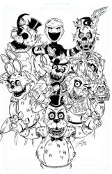 Five Nights at Freddy's by Dean-Irvine