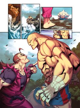 Street Fighter Unlimited Issue 8 by edwinhuang