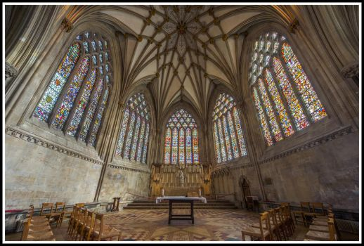 Wells Cathedral by TheFoolInTheRain