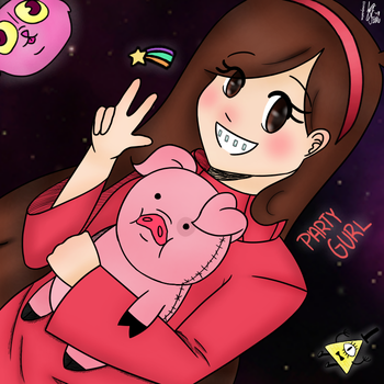 Gravity Falls: Mabel Pines by CookieGoneBad-Chan