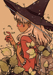 Travelling Witch by tritn