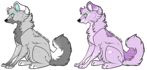 Canine Adoptables #1 : OTA [CLOSED] by CylaDavenport
