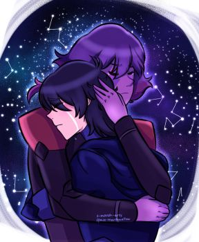 keith and krolia by Space-Marshmallow