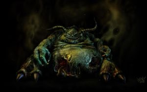 Greater Daemon of Nurgle by psionic