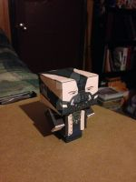 Bane, The Dark Knight Rises CubeeCraft by SuperVegeta71290