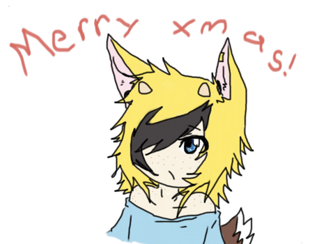 A little late, but, merry chistmas by FoxyFai