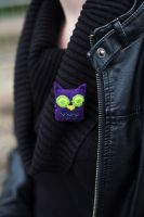 Owl pin by unnoticeable-me