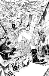 HARLEY QUINN PG 1 of 8 - Sam Lotfi by slotfi