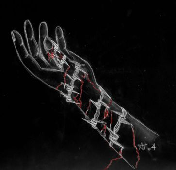 Barbed Hand-Inverted by NotTheOne