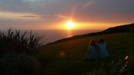 Zennor's Sunset by NuagePluie