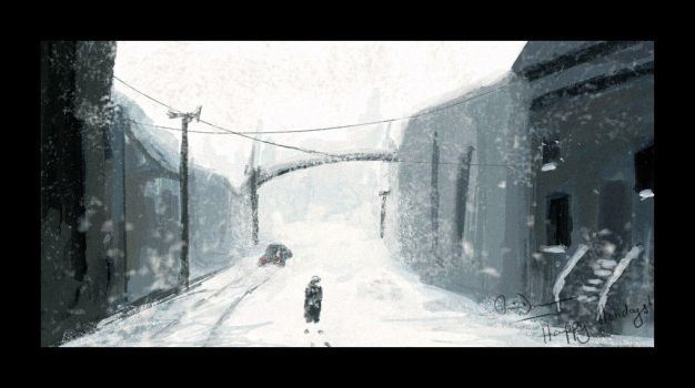 Speedpainting-Happy Holidays by speed-painting