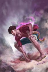 Luffy by young-street