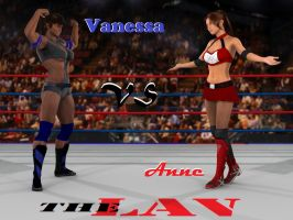 Vanessa Hunter vs Anne Carter 0A.1 by PhoenixCreed