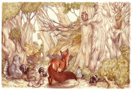 Gathering In The Forest Pg 7 (2007) by LAN0RA