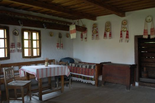 Romania -old traditional room by antonnicuadrian