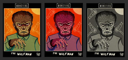 Universal Monsters - The Wolfman by HJTHX1138