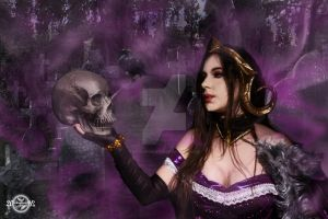 More than what meets the eye- Liliana Cosplay by 20Tourniquet02