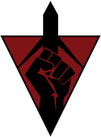 IRONFIST Terran Republic Fist Logo by TJourney