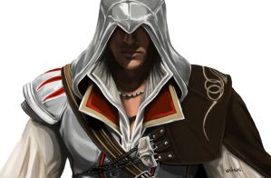 Ezio Auditore da Firenze by ShockyTheGreat