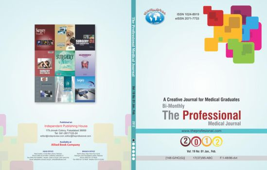 The Professional Medical Journal 2012 Title by asaleem