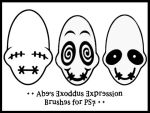 Abe's Exoddus Expressions by d00bie