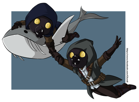 Dishonored whalers by CiLundi