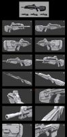 Halo 4 BR85HB SR Battle Rifle by Malcontent1692