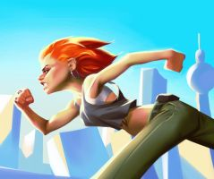 Run Lola Run by Grobi-Grafik