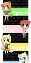 Lucky - Chibi Intro Strip by Beedalee-Art