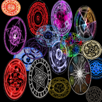 MMD Magic circles pack V.3 by keemrap