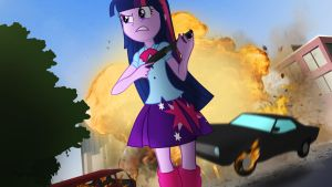 [Equestria Girls] Deathmatch by VBASTV