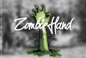 Zombie Hand by soy-un-cactus by soy-un-cactus