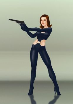 Trinquette Challenge: Emma Peel by luisilustra