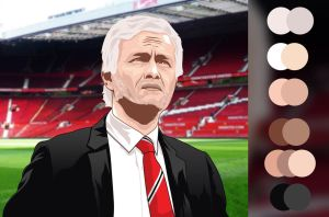 Jose Mourinho (Pallete) by dicky10official