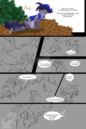 Such Blood - Short Comic by JB-Pawstep