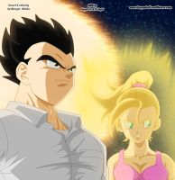 DBM 263 page - Gohan and Bulla by Avenger94